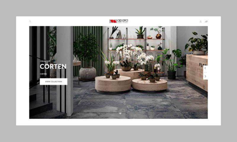 Ester Digital - Aparici Website