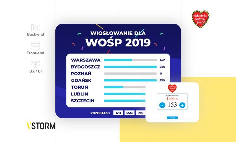 VSTORM - Event app for the biggest Polish NGO