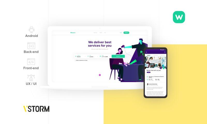 VSTORM - Marketplace for beauty freelancers