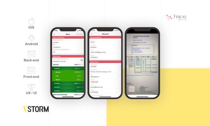 VSTORM - Mobile solution for bookkeeping