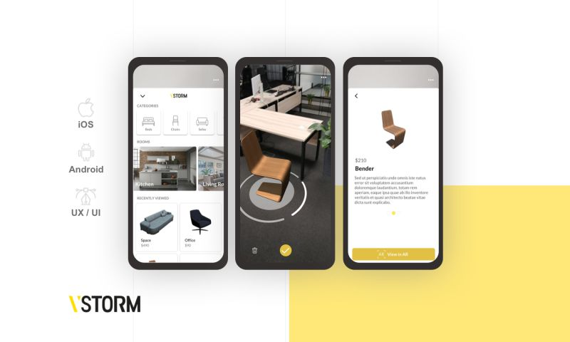 VSTORM - Augmented Reality placement