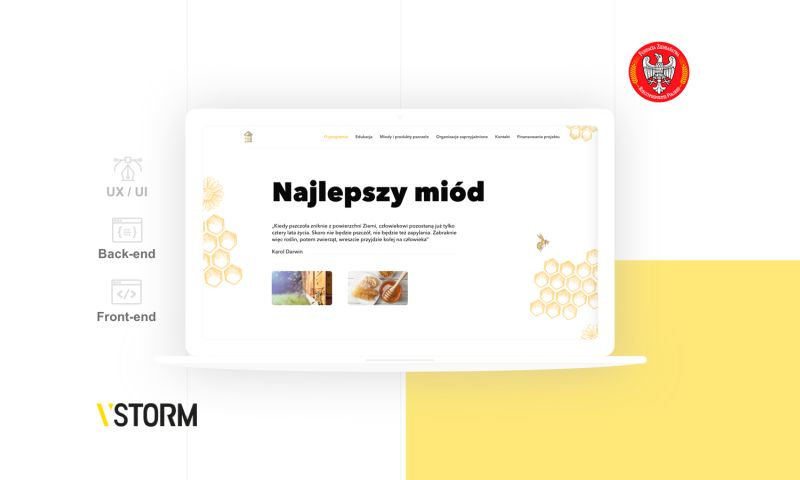 VSTORM - Three websites for Polish Foundation of Landowners