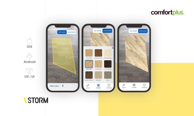 VSTORM - AR application for a manufacturer