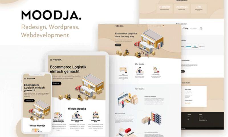 F5 Studio - Website Redesign   Moodja