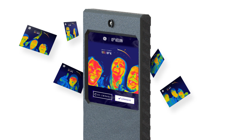 L+R - GE Thermal Imaging Photo Booth Innovation Activation
