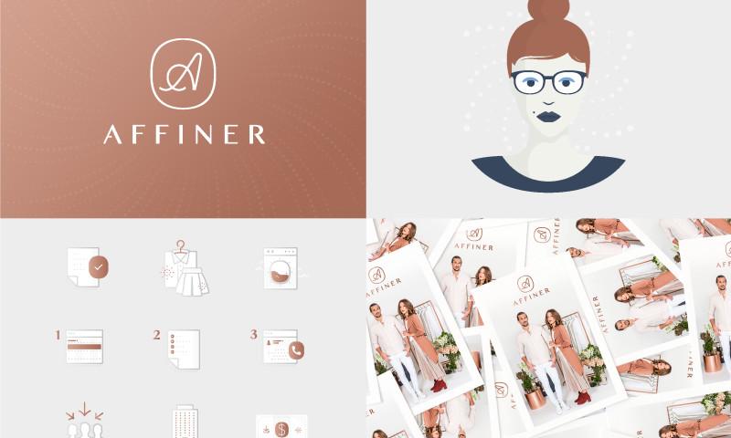 L+R - Affiner Brand Identity
