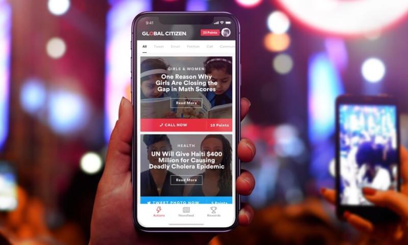 L+R - Global Citizen App