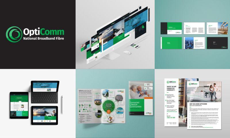 Viabrand - A brand refresh for OptiComm