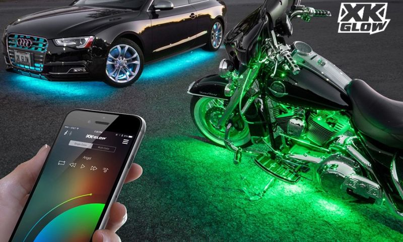 Ace Infoway - Bluetooth (BLE) based innovative Smartphone App to control Automotive LED lights.