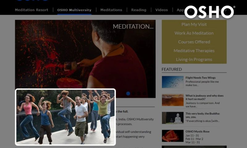 Ace Infoway - Enterprise CMS Website for an International Spiritual Foundation, contributing to Inner Transformation Meditation and Well being of Human Life.