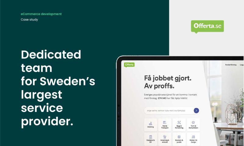 Forbytes - Dedicated team for Sweden's largest service provider