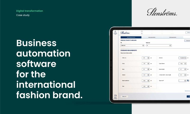 Forbytes - Business automation software for the international fashion brand