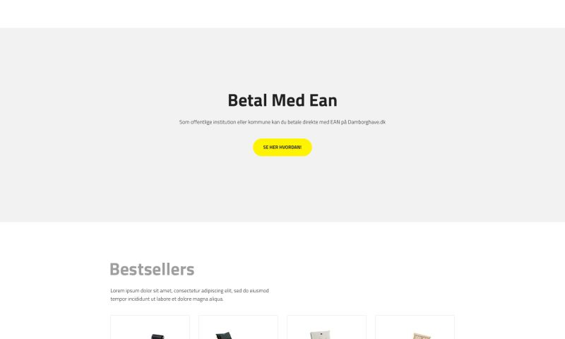 Synergy Way - Damborg Website Redesign