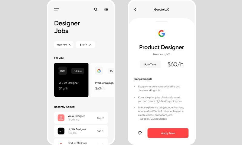 INVO Technologies - Job Finder App