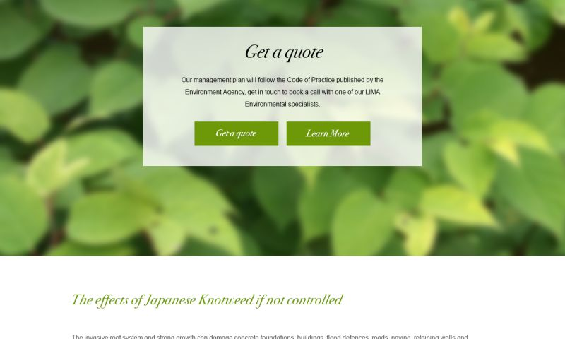 Epitome Digital - Lima Environmental Website