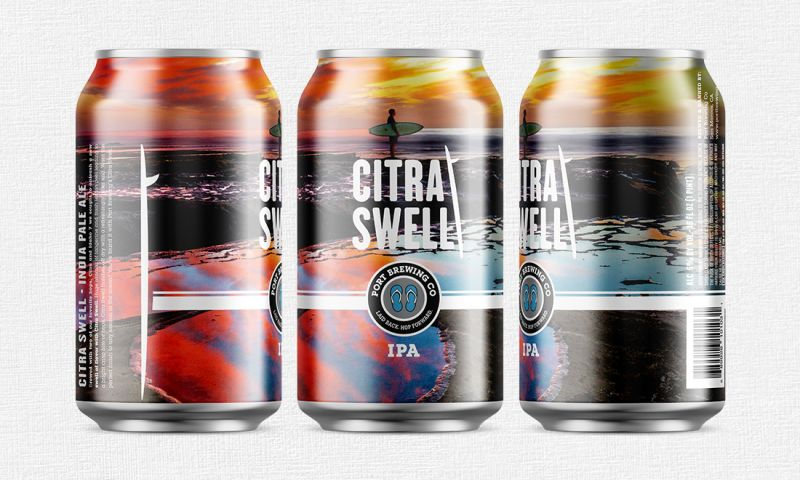 FRW Studios - Citra Swell IPA Can Design