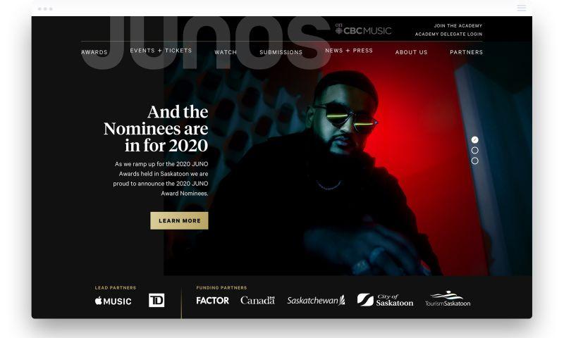 Parachute Design Group Inc. - The JUNO Awards