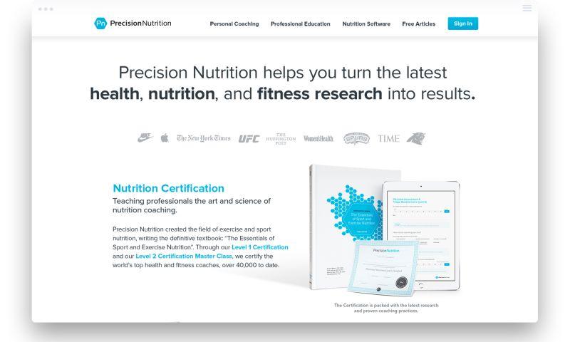 Parachute Design Group Inc. - Precision Nutrition