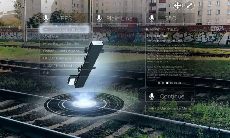 4Experience - HoloLens maintenance demonstration