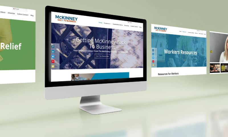 Centipede Digital™ - McKinney Back To Business