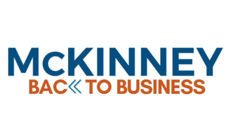 Centipede Digital™ - McKinney Back To Business Logo