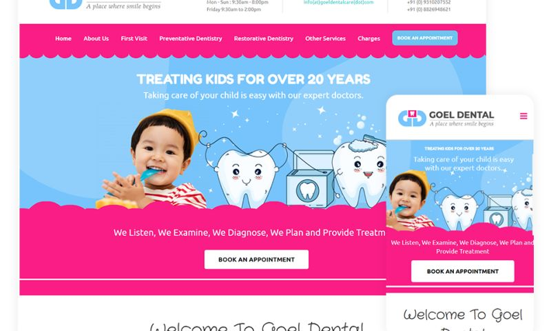 Justgoweb - Goel Dental