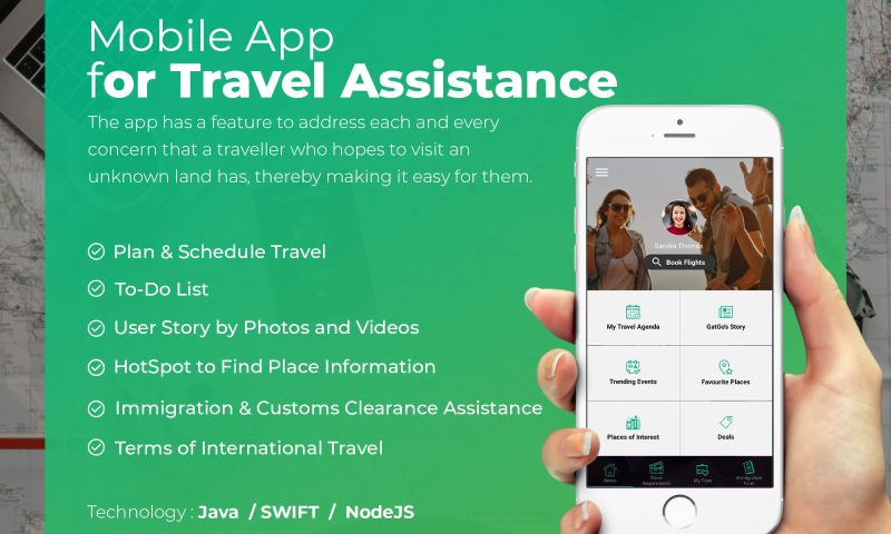 NewAgeSMB - Mobile App for Travel Assistance