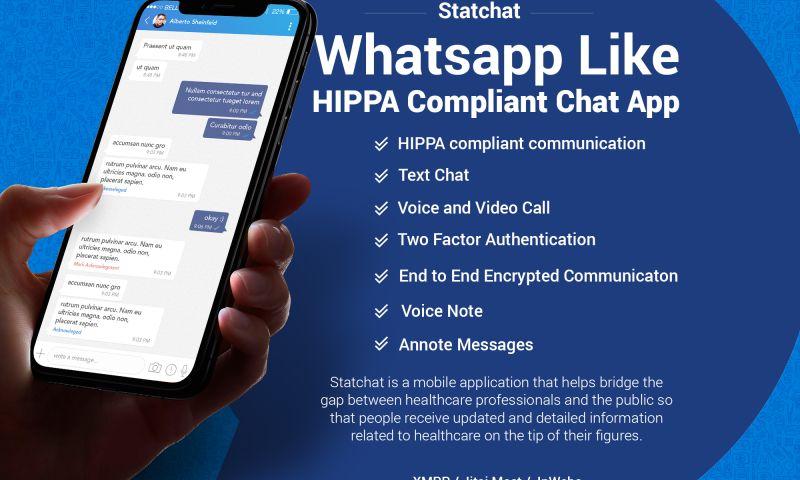 NewAgeSMB - Whatsapp Like HIPPA Compliant Chat App