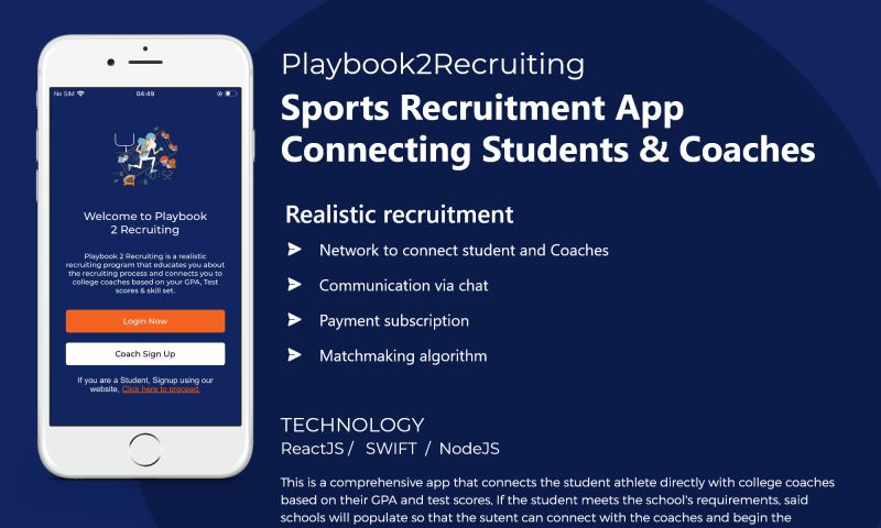 NewAgeSMB - Sports Recruitment App Connecting Students & Coaches