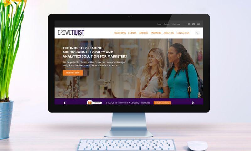 Inspire Visual - CrowdTwist: Rebranding