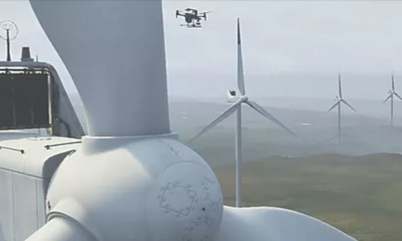 Level 12 - Machine Learning Windmill Inspection with Autonomous Drones