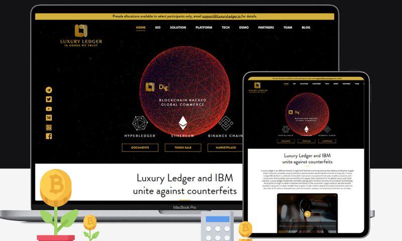 SemiDot Infotech - Luxury Ledger