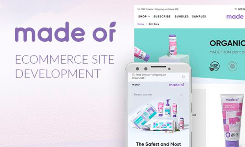 Magecom - Made Of — Magento 2 Child Care Products Store