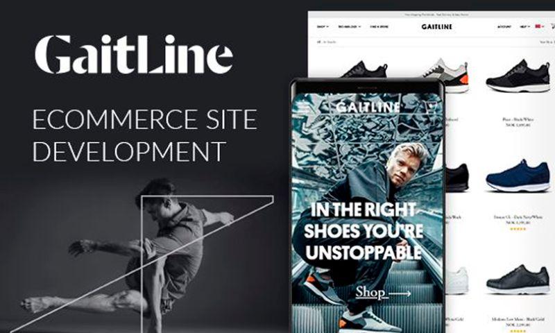 Magecom - GaitLine — Magento Store Development for a Leading Norwegian E-tailer