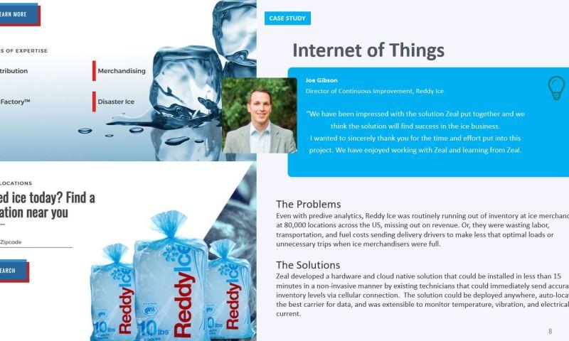 Zeal IT Consultants - Reddy Ice