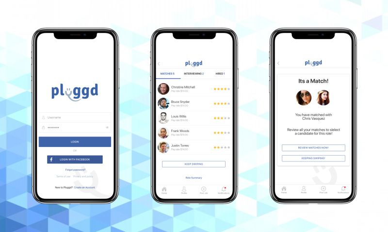 VironIT - Pluggd, on-demand staffing app