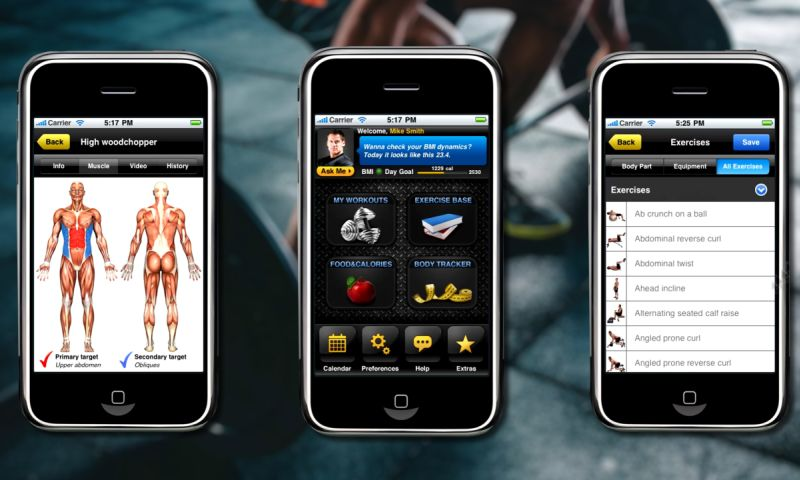 VironIT - All-in Fitness, fitness mobile application