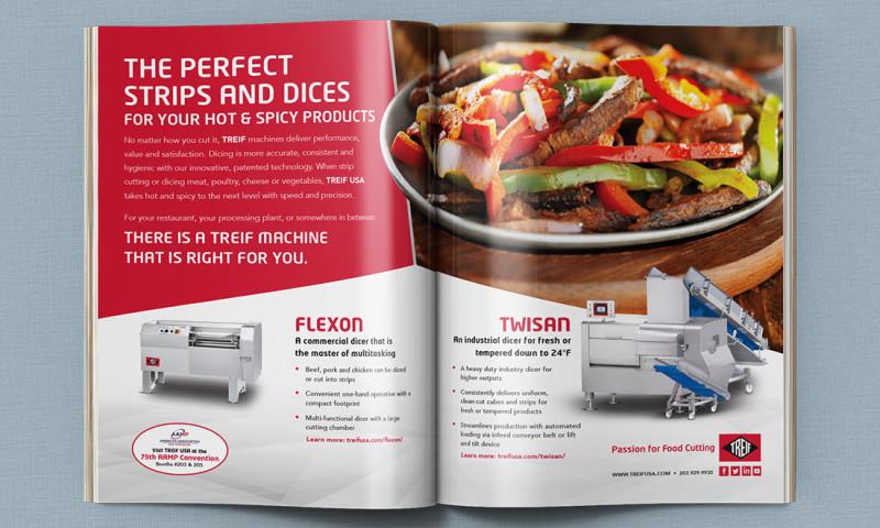 FRW Studios - TREIF USA Print Ads