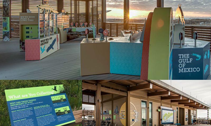 Hersick + Webster Creative Partners - Alabama Gulf State Park Exhibit and Interpretive Design