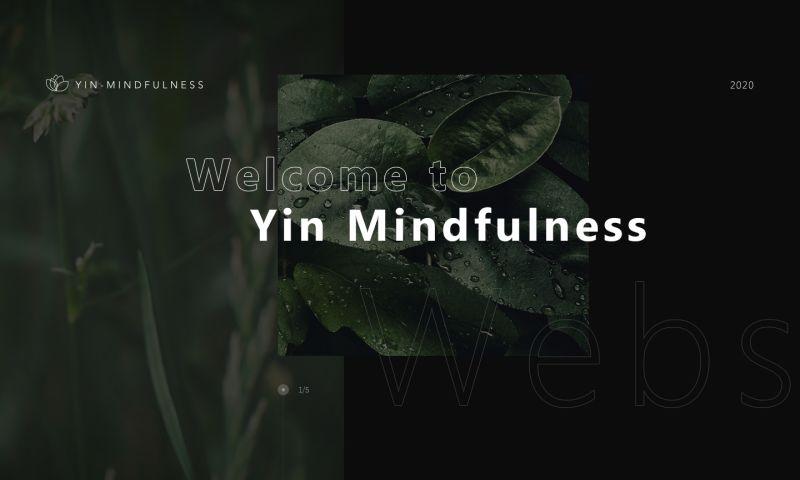 eJeeban Web Design - Yin Mindfulness Immersion