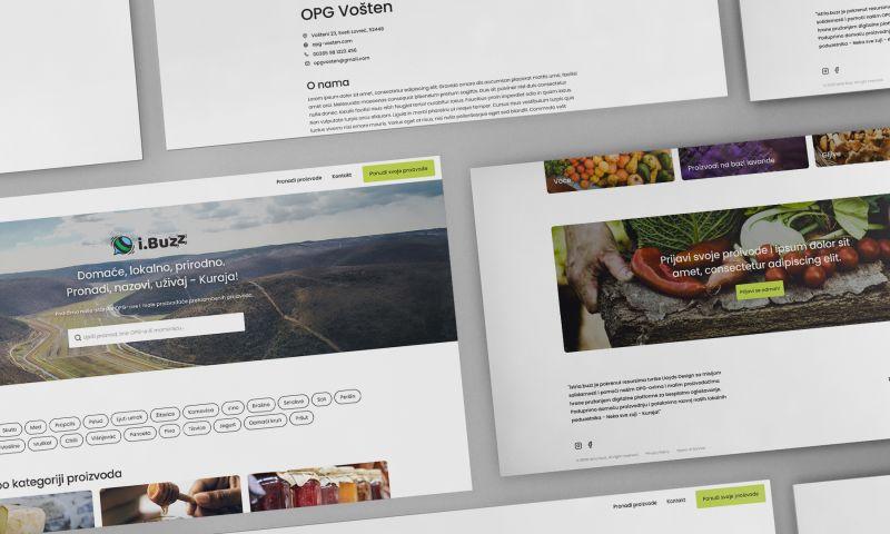 Lloyds Design - Istria.Buzz: A Unique Digital Platform Connecting Producers and Customers