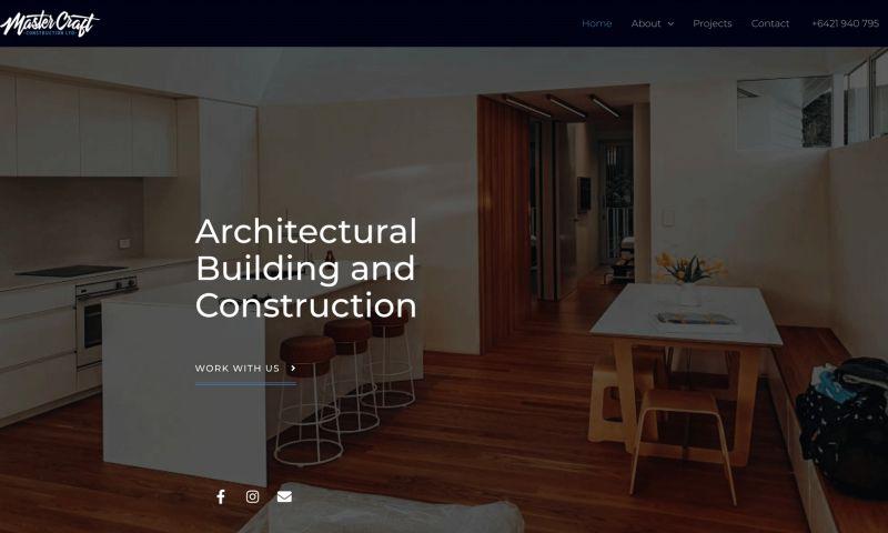Sleepi Digital - Mastercraft Construction Website Design + Development