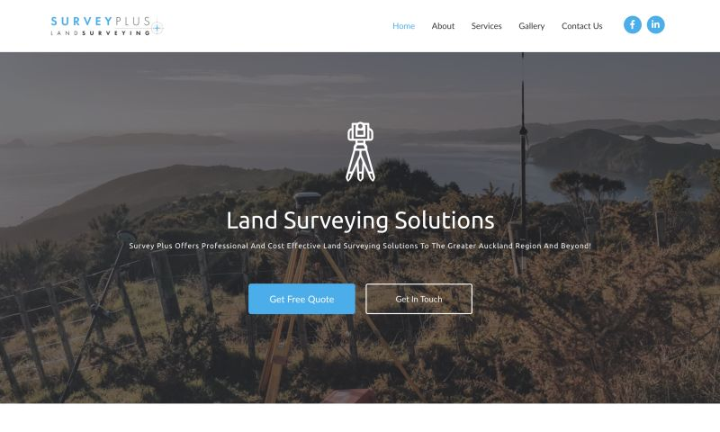 Sleepi Digital - Survey Plus Website Design and Development + Branding
