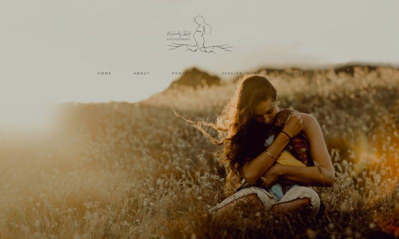 Sleepi Digital - Kimberley Rich Photography Website Design + Development