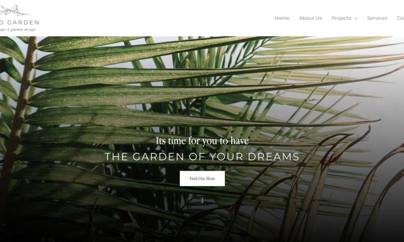 Sleepi Digital - Wild Garden Website Design + Development