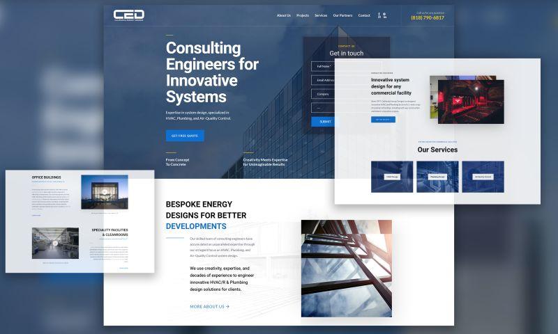 Ink, Inc. Creative Group - California Energy Designs | Digital Marketing & Web Development