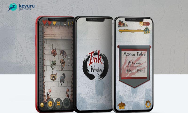 Kevuru Games - Ink Ninja