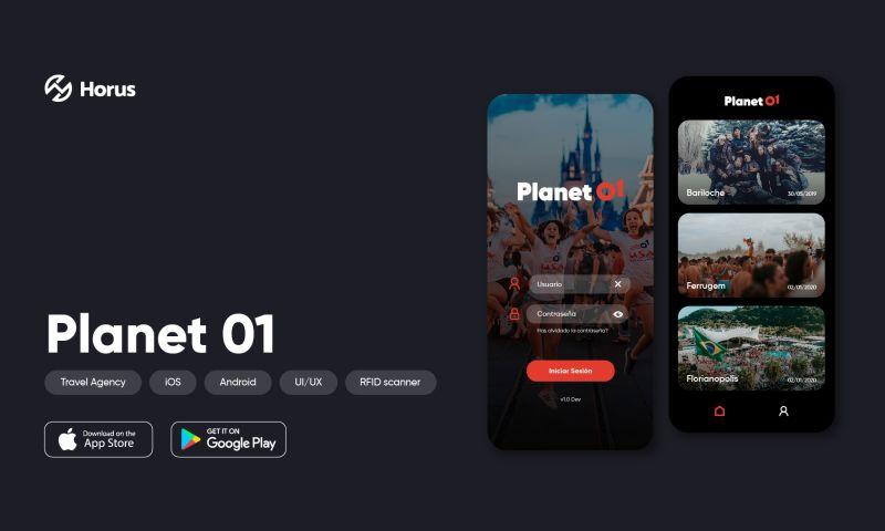 Horus Studio - Planet 01