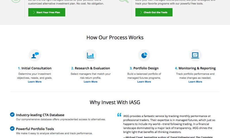 cre8 - IASG Website and App Development