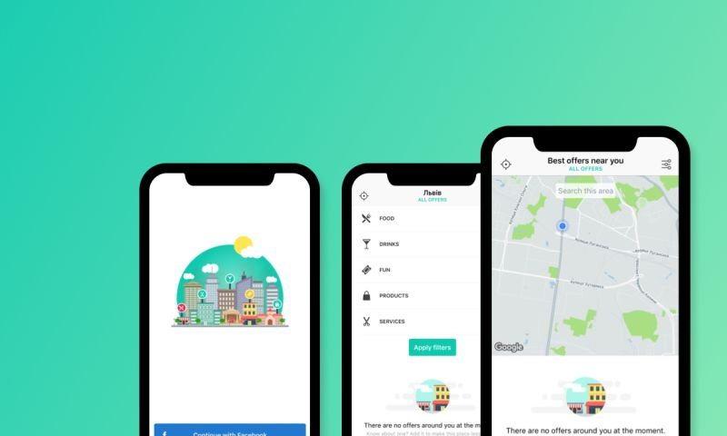 Leobit - IOS APP THAT ENABLES USERS TO FIND LOCAL BUSINESS OFFERS